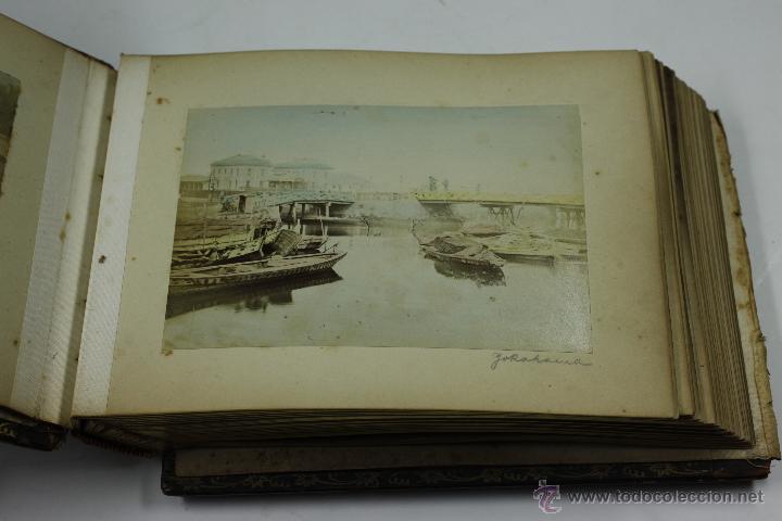 Fotografía antigua: Japón, 1890's. Álbum con 50 fotos: Nagasaki, Tokio, Nikko, Osaka, Kobe, etc. Y muchos retratos, ver. - Foto 50 - 51299985
