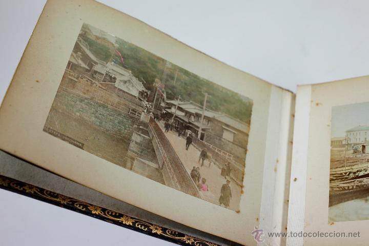 Fotografía antigua: Japón, 1890's. Álbum con 50 fotos: Nagasaki, Tokio, Nikko, Osaka, Kobe, etc. Y muchos retratos, ver. - Foto 51 - 51299985