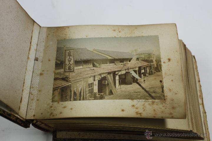 Fotografía antigua: Japón, 1890's. Álbum con 50 fotos: Nagasaki, Tokio, Nikko, Osaka, Kobe, etc. Y muchos retratos, ver. - Foto 52 - 51299985