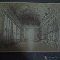 Fotografía antigua: FOTOGRAFIA ANTIGUA: 16.4X10,8 CTMS. EDITEUR: E. ZIEGLER.PARIS.-CARTONÈ.- VERSAILLES,SALLE DES GLACÈ. Lote 51342854