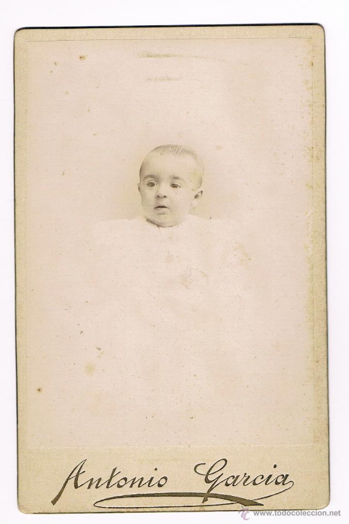 Fotografía antigua: ANTONIO GARCIA - VALENCIA - SIGLO XIX - LUZ Y ARTE - Foto 2 - 51549539