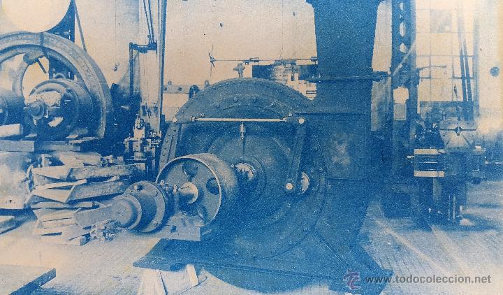 Fotografía antigua: FABRICA - CIANOTIPO - 1920S - Foto 2 - 51707019
