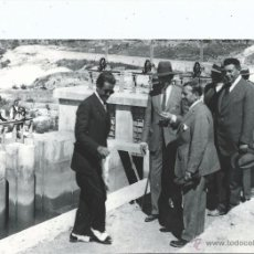 Fotografía antigua: UEM - CUENCA - INAUGURACIÓN SALTO VILLALBA (DE LA SIERRA) 15-6-1926 - ALFONSO XIII - 18,5 X 24 CM.. Lote 169740133