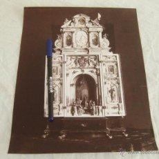 Fotografía antigua: FOTOGRAFIA ALBUMINA DE LAURENT. ALTAR PORTATIL. Lote 52285771