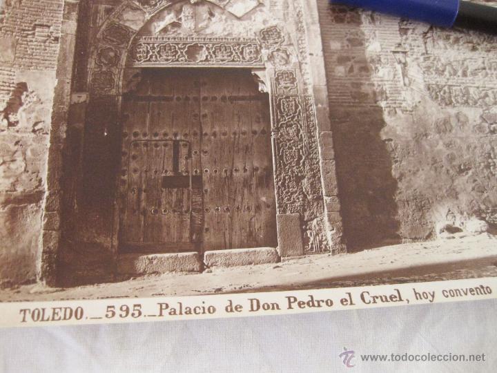 Fotografía antigua: FOTOGRAFÍA ALBÚMINA DE J. LAURENT. 25 X 33,5 TOLEDO 595. PALACIO DE DON PEDRO EL CRUEL. SANTA ISABEL - Foto 2 - 52293352