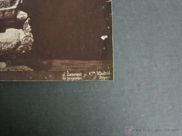 Fotografía antigua: ALBUMINA LAURENT- SALAMANCA- 828-STATUE DE LA VIERGE DE LA VEGA - 25 X 33 MED- (F-462) - Foto 4 - 39174334
