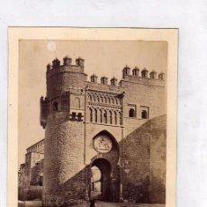 Alte Fotografie - Fotografía albúmina Toledo. 19 La puerta del Sol. . J. Laurent Madrid. - 52526735
