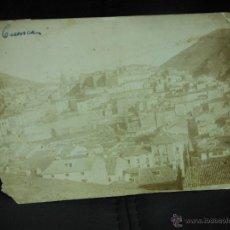 Fotografía antigua: CUENCA VISTA SIGLO XIX FOTOGRAFIA ALBUMINA 3. Lote 52541173