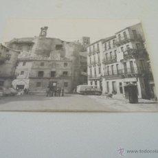 Fotografía antigua: ANTIGUA FOTOGRAFIA.- AYUNTAMIENTO Y CASTILLO DE SEPÚLVEDA (SEGOVIA)-7 X 10.5 CM.-S/F. Lote 52653223