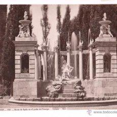 Fotografía antigua: ARANJUEZ, 132. FUENTE DE APOLO, EL JARDÍN DEL PRINCIPE. FOTO: LAURENT, MADRID, 1870'S. 25X33,5CM.. Lote 52656628
