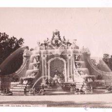 Fotografía antigua: SAN ILDEFONSO, 119. LOS BAÑOS DE DIANA, FOTO: LAURENT, MADRID. 1870'S. 24,5X33,5 CM.. Lote 52656903