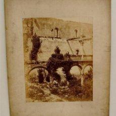 Fotografía antigua: CHARLES CLIFFORD. RUINAS DEL MONASTERIO DE YUSTE. ORIGINAL DE EPOCA. SIGLO XIX. EXTREMADURA.. Lote 52933017