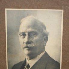 Fotografía antigua: ALEJANDRO LERROUX ( 1864-1949 ) PRESIDENTE DEL GOBIERNO ESPAÑOL DURANTE LA 2º REPUBLICA. Lote 52962722