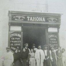 Fotografía antigua: FOTOGRAFÍA DE LA TAHONA PANADERÍA DE LA CALLE MOLINO DE VIENTO Nº 7. MALASAÑA MADRID. RARA. 21X16 CM. Lote 52964031