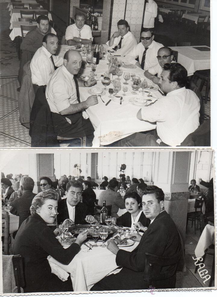 Fotografía antigua: LOTE DE 6 FOTOS DE BODAS Y COMIDAS AÑOS 60 - Foto 2 - 53016434