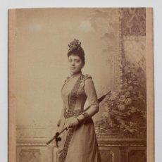 Fotografía antigua: LUISA, 1890. Lote 53191688