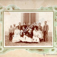 Fotografía antigua: SEVILLA, SIGLO XIX, ESPECTACULAR ALBUMINA COSTUMBRISTA,285X220MM. Lote 53272377