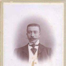 Fotografía antigua: GRANADA, FOT. TORRES GARCIA 11X16 CM, ALBUMINA, ANTEPASADO, SIGLO XIX, ALBUMINA. Lote 53531705