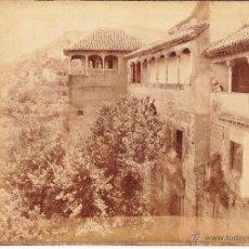 Fotografía antigua: ALHAMBRA - GRANADA - GARZON. Lote 53640002