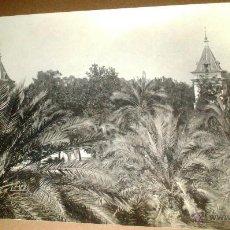 Fotografía antigua: MAGNIFICA FOTO ORIGINAL ALBUMINA, VALENCIA. ALAMEDA, MEDIDAS 17 X 12 CM. Lote 53812599