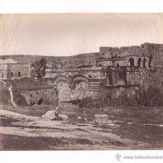 Fotografía antigua: JERUSALEM, 168. PORTE DORÉE, PALESTINE. 1870'S. FOTO: BONFILS, ALBÚMINA 29X23 CM.. Lote 53889450