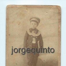 Fotografía antigua: RETRATO. NIÑO. CENTRO FOTOGRÁFICO VILLAR. CALLE DE CARAVIJA, 10. MURCIA.. Lote 53949164