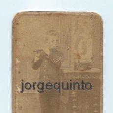 Fotografía antigua: RETRATO. NIÑO. CENTRO FOTOGRÁFICO VILLAR. CALLE DE LA CARAVIJA, 10. MURCIA.. Lote 53949258