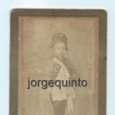 Fotografía antigua: RETRATO DE ESTUDIO. NIÑO. J. LÓPEZ . CENTRO FOTOGRÁFICO VILLAR. MURCIA.. Lote 53949386