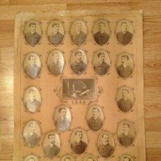 Fotografía antigua: ORLA MEDICINA. G.FOURNIER. 1886. Lote 53957377