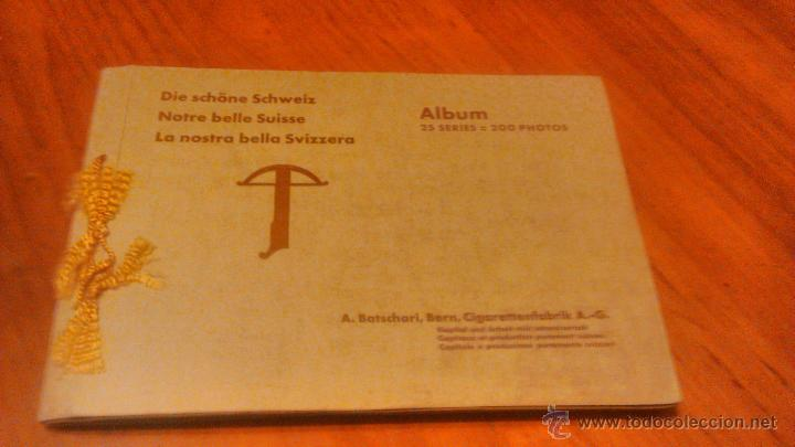 ALBUM THE BEAUTIFUL SWITZERLAND.NOTRE BELLE SUISSE.LA NOSTRA BELLA SVIZZERA. ALBUM 1936.200 FOTOS (Fotografía Antigua - Albúmina)