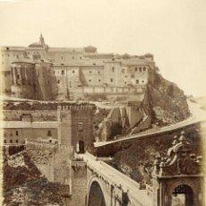 Fotografía antigua: CASIANO ALGUACIL. PUENTE DE ALCANTARA.-TOLEDO. Lote 46708004