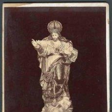 Fotografía antigua: GRANADA. SANTO CRISTO. GRAN FORMATO. F: GARCÍA AYOLA. FOTOGRAFÍA ARTÍSTICA. C. 1890. Lote 54308504