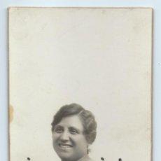 Fotografía antigua: RETRATO FEMENINO. HARO HERMANOS. CARTAGENA, MURCIA.. Lote 54329052