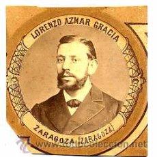 Fotografía antigua: MADRID 1880-81 FACULTAD DE MEDICINA LORENZO AZNAR GRACIA -ZARAGOZA RETAL ORLA . Lote 54339920