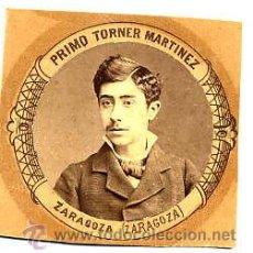 Fotografía antigua: MADRID 1880-1881 FACULTAD MEDICINA PRIMO TORNER MARTINEZ - ZARAGOZA RETAL ORLA. Lote 54340333