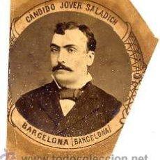 Fotografía antigua: MADRID 1880-1881 FACULTAD MEDICINA CANDIDO JOVER SALADICH -BARCELONA RETAL ORLA. Lote 54340560