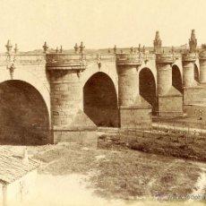 Fotografía antigua: LEVY 1747 MADRID, EL PUENTE DE TOLEDO.. Lote 54422671