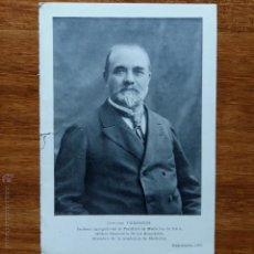 Fotografía antigua: ANTIGUA FOTO POSTAL. DOCTOR TROISER PROFESOR AGREGADO EN LA FACULTAD DE MEDICINA DE PARIS. Lote 54424997