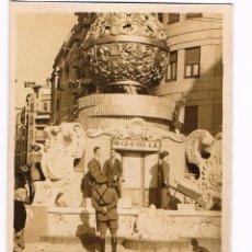 Fotografía antigua: VALENCIA. FALLA Y MILITAR REPUBLICANO. Lote 54591470