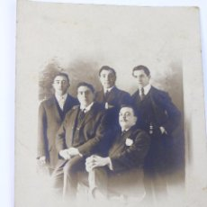 Fotografía antigua: F-1118.FOTOGRAFIA DE GRUPO. POSTAL DESDE WASHINGTON A LA HABANA. 1908.. Lote 54691034