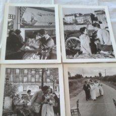 Fotografía antigua: ROBERT DOISNEAU 4 REPRODUCCIONES (1990) FOTOGRAFIAS AÑOS 50- FORMATO 30 X 24 CMS.. Lote 54730664