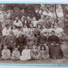 Fotografía antigua: F-1715. SENSACIONAL FOTO DE GRUPO.PRINCIPIOS SIGLO XX. FRANCIA.. Lote 54742593