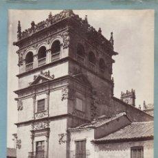 Fotografía antigua: SALAMANCA, 1886. TORRE DE LA CASA DE MONTEREY, FOTO: J. LAURENT. 24X33,5 CM.. Lote 54792103