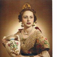 Fotografía antigua: VALENCIA. FALLERA AÑO 1953.. Lote 54864364