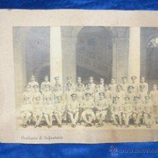 Fotografía antigua: FOTOGRAFÍA DE LA ACADEMIA DE INFANTERÍA DE TOLEDO DE 1918. Lote 54883975