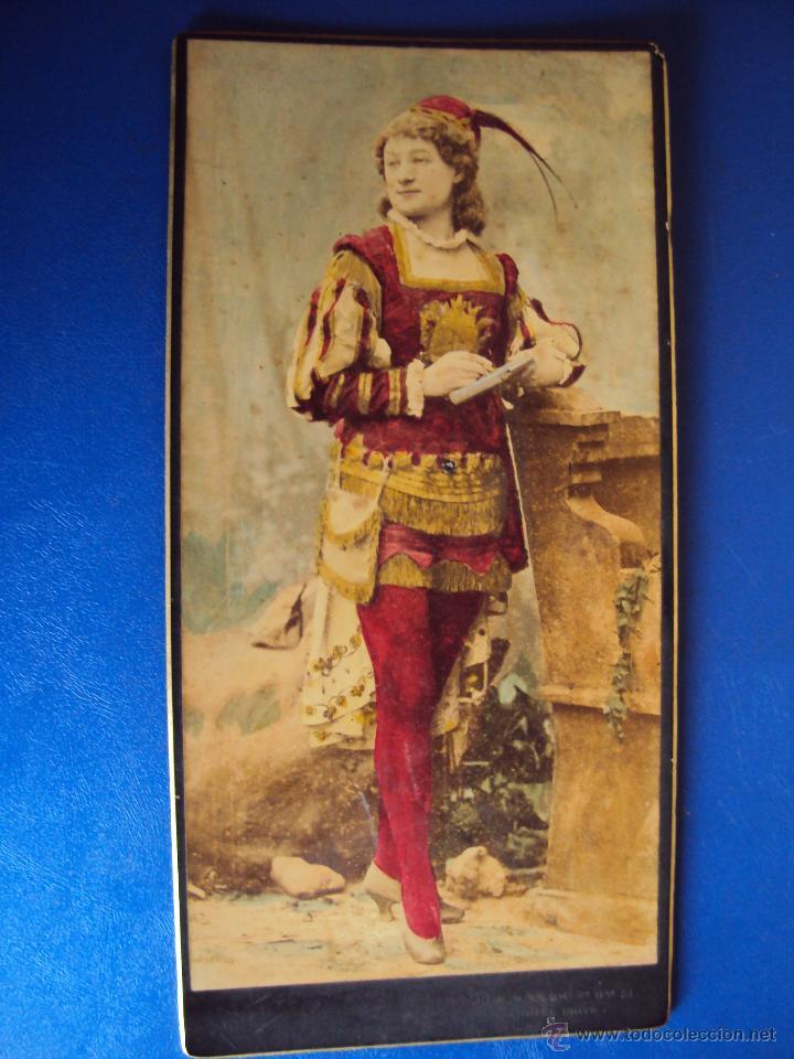 Fotografía antigua: (FOT-1530)10 FOTOGRAFIAS DE NADAR.SIGLO XIX.ACTORES Y ARTISTAS FRANCESES - Foto 10 - 55044526