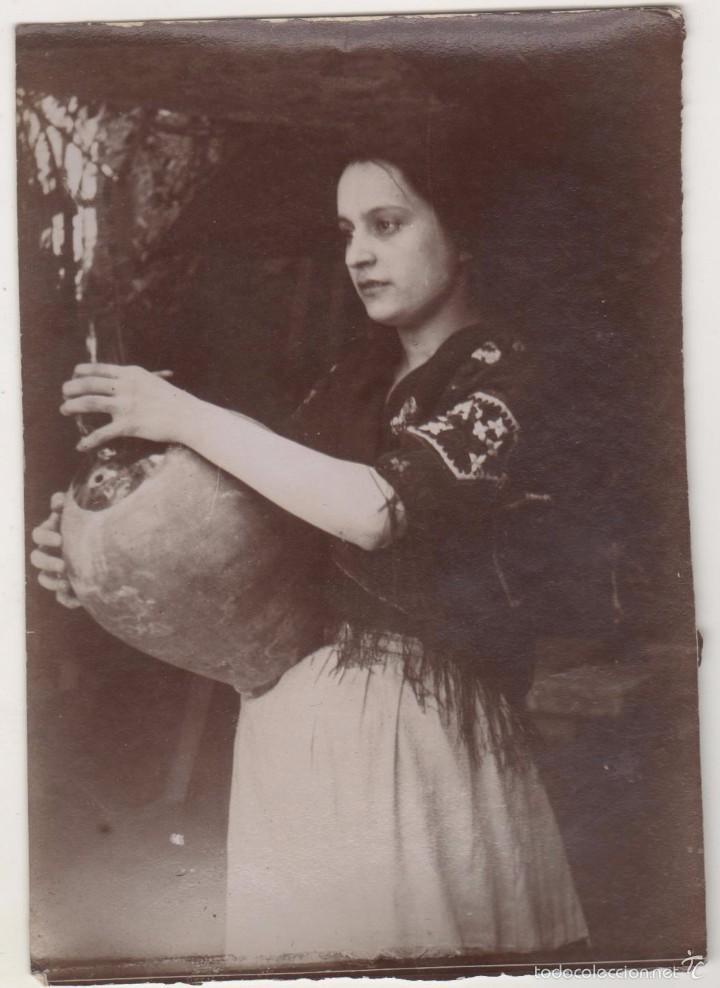 ANTIGUA FOTO ALBÚMINA ATRIBUIDA A BALDOMER GILI I ROIG. ORIGINAL AÑOS 1900S. 12 X 8 CTMS. (Fotografía Antigua - Albúmina)