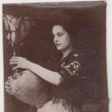 Fotografía antigua: ANTIGUA FOTO ALBÚMINA ATRIBUIDA A BALDOMER GILI I ROIG. ORIGINAL AÑOS 1900S. 12 X 8 CTMS.. Lote 55351301