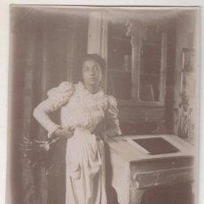 Fotografía antigua: ANTIGUA FOTO ALBÚMINA ATRIBUIDA A BALDOMER GILI I ROIG. ORIGINAL AÑOS 1900S. 12 X 8 CTMS.. Lote 55351302