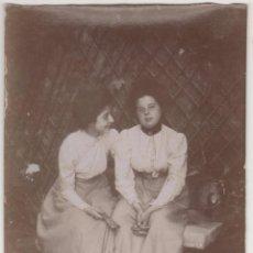 Fotografía antigua: ANTIGUA FOTO ALBÚMINA ATRIBUIDA A BALDOMER GILI I ROIG. ORIGINAL AÑOS 1900S. 12 X 8 CTMS.. Lote 55351307